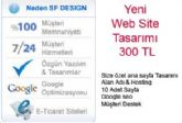 Web Site Tasarımı 300 TL