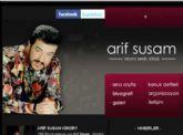 Arif Susam Resmi �nternet Sitesi A�ma