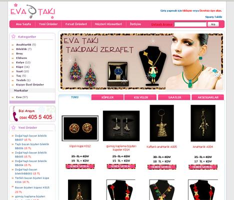 Online Takı Eticaret Sitesi