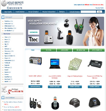 ucuzsepeti.com Alışveriş Sitesi