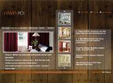 Küçük Resim Gösterimli Flash Web Sitesi