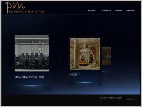 PM Mimarlık Web Siteleri